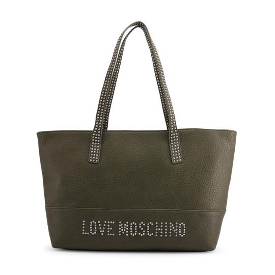 Preload https://img-static.tradesy.com/item/25782312/love-moschino-shopping-bag-green-faux-leather-tote-0-0-540-540.jpg