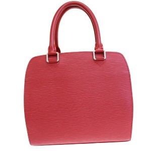 Louis Vuitton Made In France Tote in Red