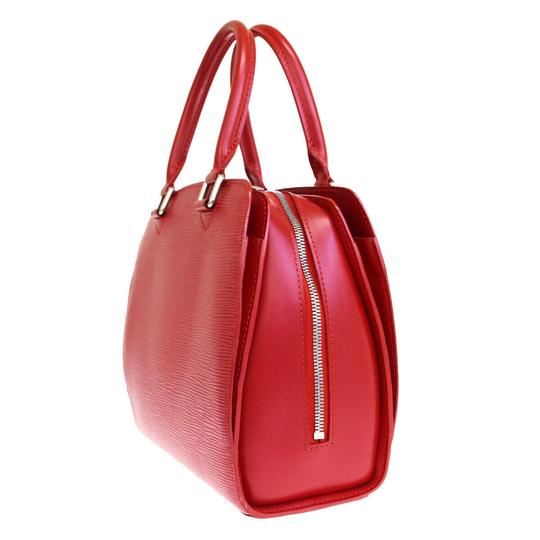 Louis Vuitton Made In France Tote in Red Image 1
