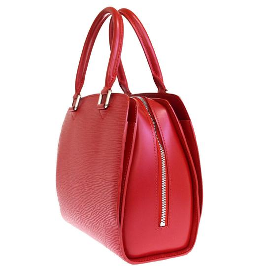 Louis Vuitton Made In France Tote in Red Image 2