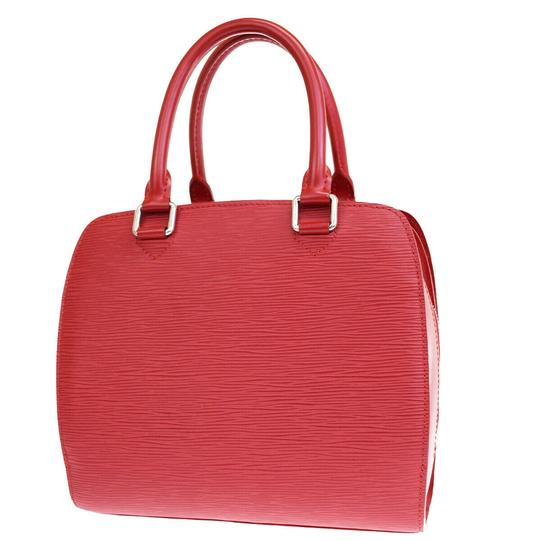 Louis Vuitton Made In France Tote in Red Image 3