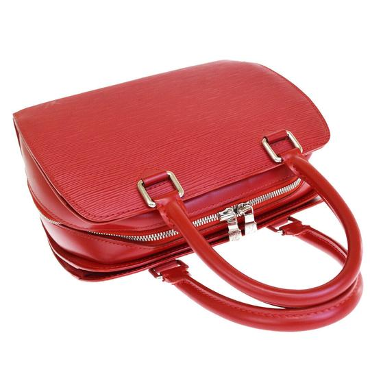 Louis Vuitton Made In France Tote in Red Image 5