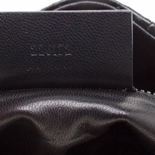 Alexander McQueen Leather Fabric Black Clutch Image 6