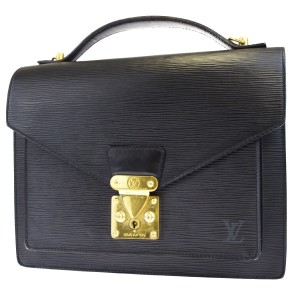 Louis Vuitton Made In France Black Travel Bag