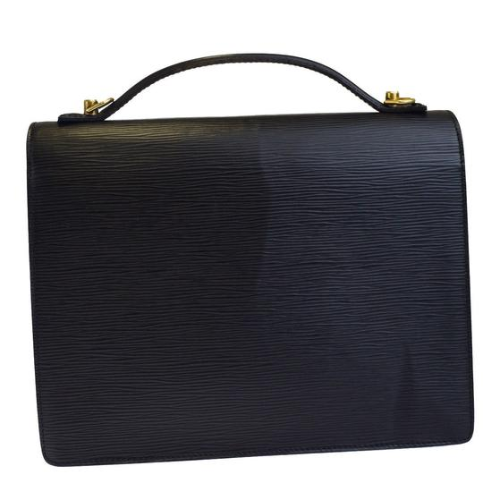 Louis Vuitton Made In France Black Travel Bag Image 2