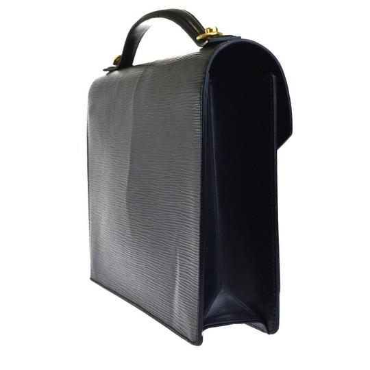 Louis Vuitton Made In France Black Travel Bag Image 3