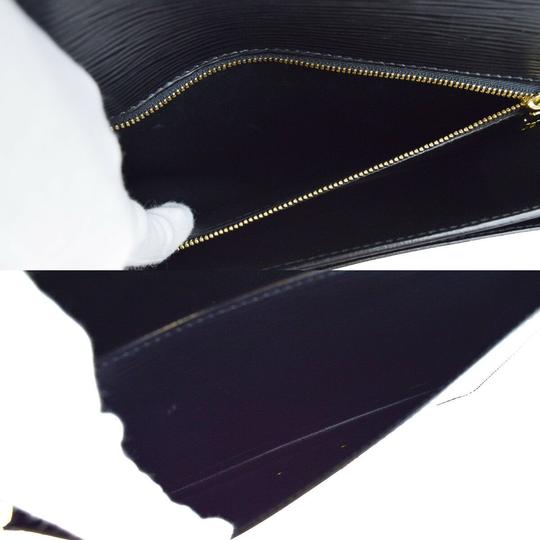 Louis Vuitton Made In France Black Travel Bag Image 6