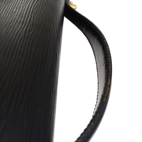 Louis Vuitton Made In France Black Travel Bag Image 7
