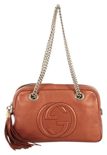 Preload https://img-static.tradesy.com/item/25782408/gucci-soho-chain-zip-small-orange-leather-shoulder-bag-0-1-540-540.jpg