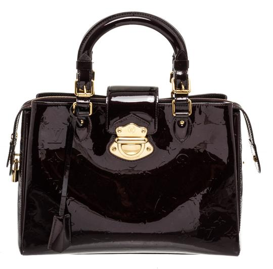 Preload https://img-static.tradesy.com/item/25782414/louis-vuitton-avenue-melrose-dark-purple-vernis-handbag-amarante-patent-leather-satchel-0-1-540-540.jpg