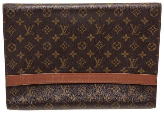 Preload https://img-static.tradesy.com/item/25782420/louis-vuitton-monogram-vintage-document-holder-brown-coated-canvas-and-leather-clutch-0-1-540-540.jpg