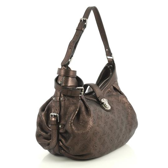 Louis Vuitton Crossbody Leather Satchel in brown Image 1