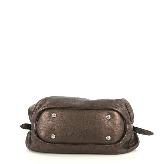 Louis Vuitton Crossbody Leather Satchel in brown Image 3