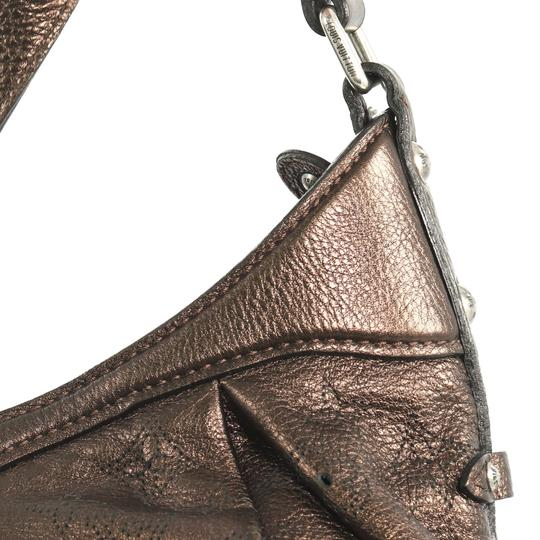 Louis Vuitton Crossbody Leather Satchel in brown Image 5