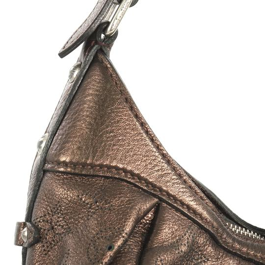 Louis Vuitton Crossbody Leather Satchel in brown Image 6