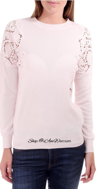 Preload https://img-static.tradesy.com/item/25782490/ted-baker-cashmere-blend-lace-pink-sweater-0-1-650-650.jpg