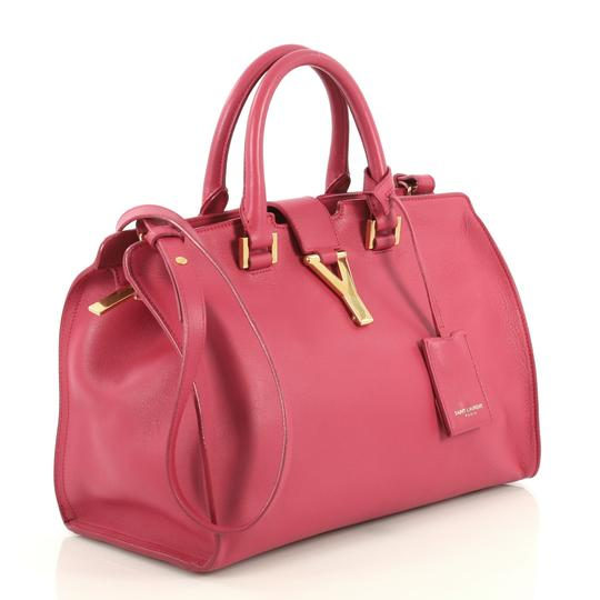 Saint Laurent Classic Cabas Satchel in pink Image 1