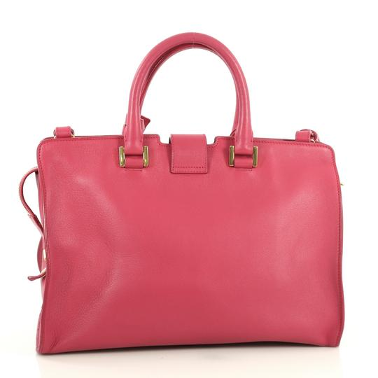 Saint Laurent Classic Cabas Satchel in pink Image 2