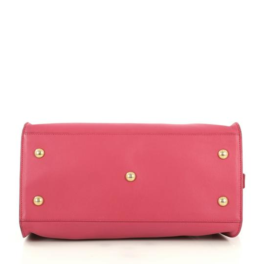 Saint Laurent Classic Cabas Satchel in pink Image 3