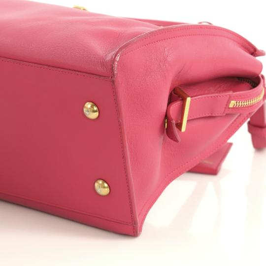 Saint Laurent Classic Cabas Satchel in pink Image 5