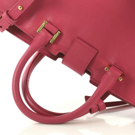 Saint Laurent Classic Cabas Satchel in pink Image 6