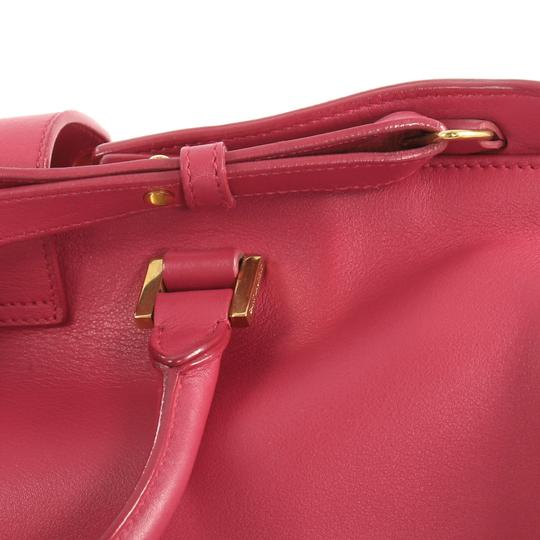 Saint Laurent Classic Cabas Satchel in pink Image 7