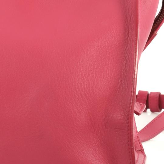 Saint Laurent Classic Cabas Satchel in pink Image 8