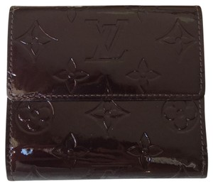 Louis Vuitton NEW LV louis vuitton glossy vernis ludlow wallet