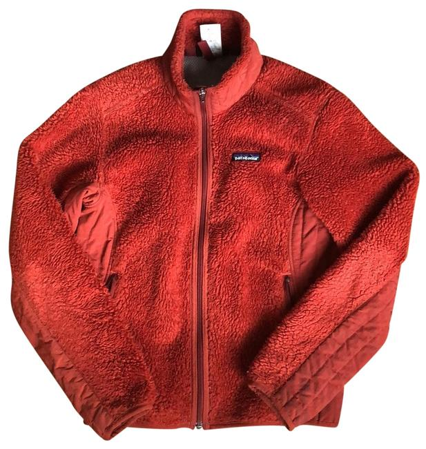 Item - Russet/ Dusty Orange-y Red Women's Classic Retro-x Fleece Jacket Coat Size 4 (S)
