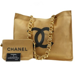 Chanel Tote in Beige Tan
