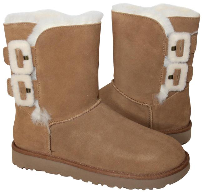 Item - Chestnut Fluff Buckle Suede Shearling Boots/Booties Size US 11 Regular (M, B)