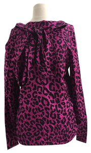 MILLY Top Magenta