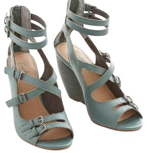 Women S Green Seychelles Shoes Wedge