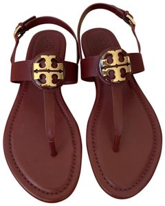 Tory Burch Thong Bryce Red ( Red Agate) Sandals