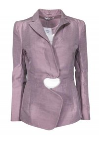 Carven Jackets Blush Colored Tailored Blazer
