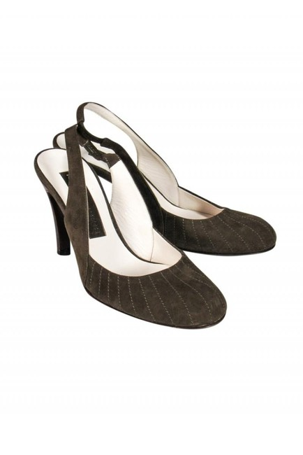 Item - Brown Pumps Size US 6.0 Regular (M, B)
