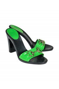 Gucci Pumps green Mules
