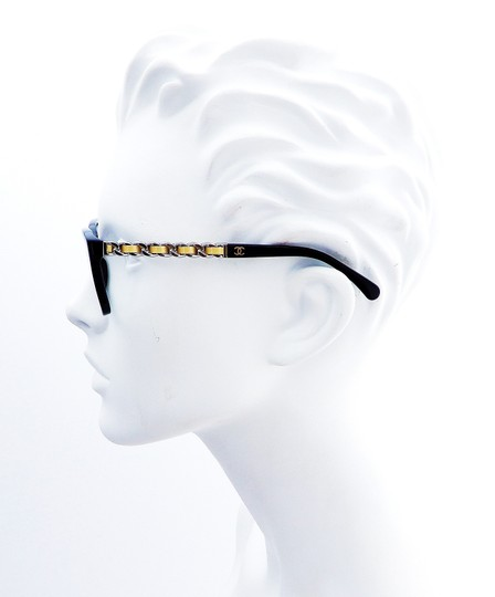 Chanel Chanel CH3263-Q c.501 Chained Leather Eyeglasses RX Frames 52mm Italy Image 3