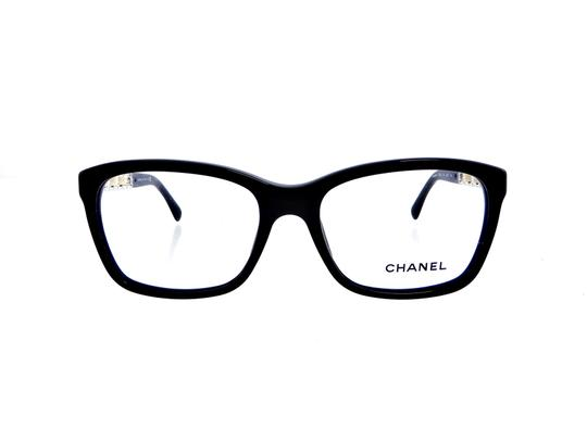 Chanel Chanel CH3263-Q c.501 Chained Leather Eyeglasses RX Frames 52mm Italy Image 7