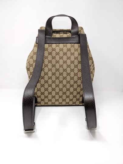 Gucci Canvas Backpack Image 10
