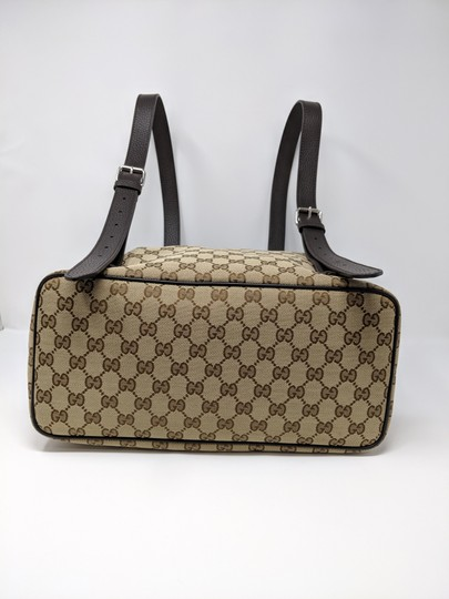 Gucci Canvas Backpack Image 5