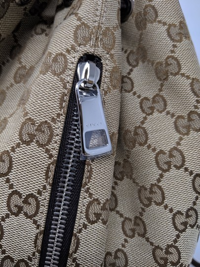 Gucci Canvas Backpack Image 6