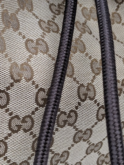 Gucci Canvas Backpack Image 8