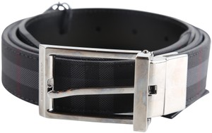 Burberry Burberry Horseferry Check Web 30MM Reversible Buckle Belt