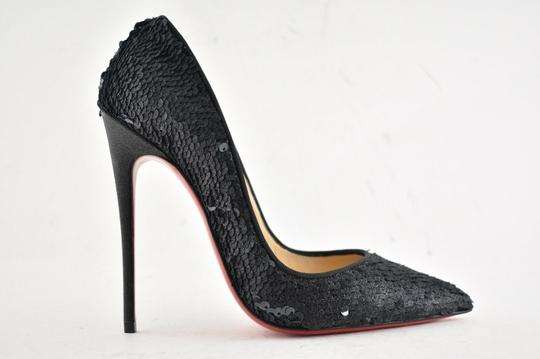 Christian Louboutin Sokate Kate Pigalle Stiletto Classic Black Pumps Image 1