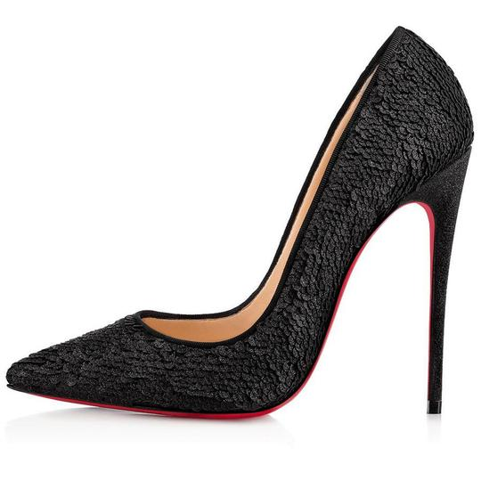 Christian Louboutin Sokate Kate Pigalle Stiletto Classic Black Pumps Image 2