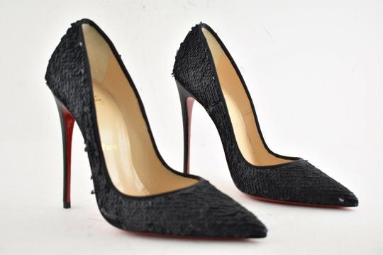 Christian Louboutin Sokate Kate Pigalle Stiletto Classic Black Pumps Image 4
