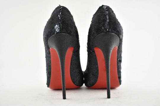 Christian Louboutin Sokate Kate Pigalle Stiletto Classic Black Pumps Image 9