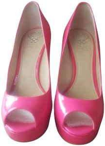 Vince Camuto Candy Pink Platforms