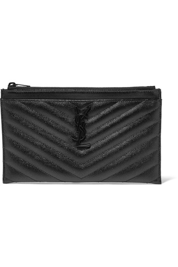 Preload https://img-static.tradesy.com/item/25785714/saint-laurent-monogram-bill-pouch-black-leather-clutch-0-0-540-540.jpg